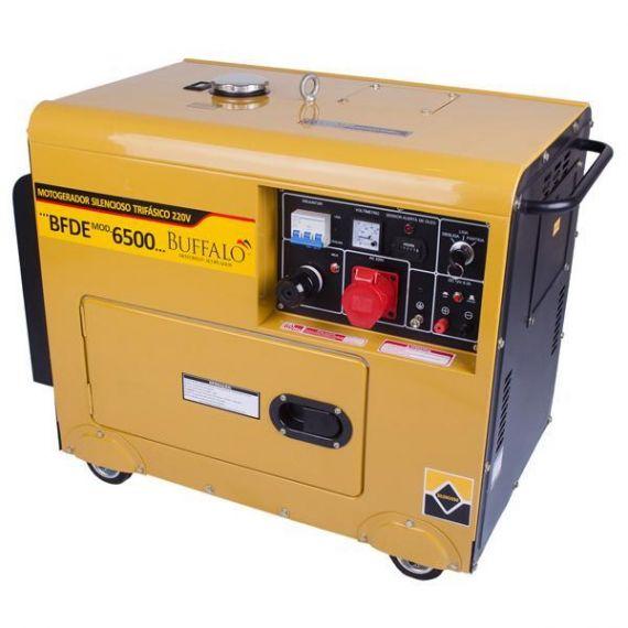 Motogerador BFDE 6.500 Silencioso Trifásico - 220V
