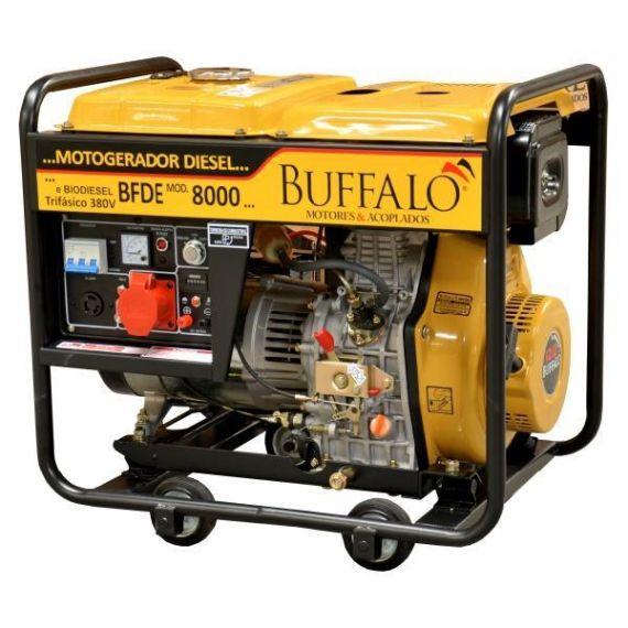 Motogerador Diesel BFDE 8.000 Trifásico 380