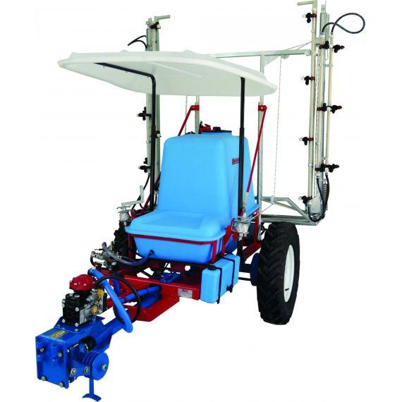 Pulverizador Tracionada Para Micro Trator com Atomizador
