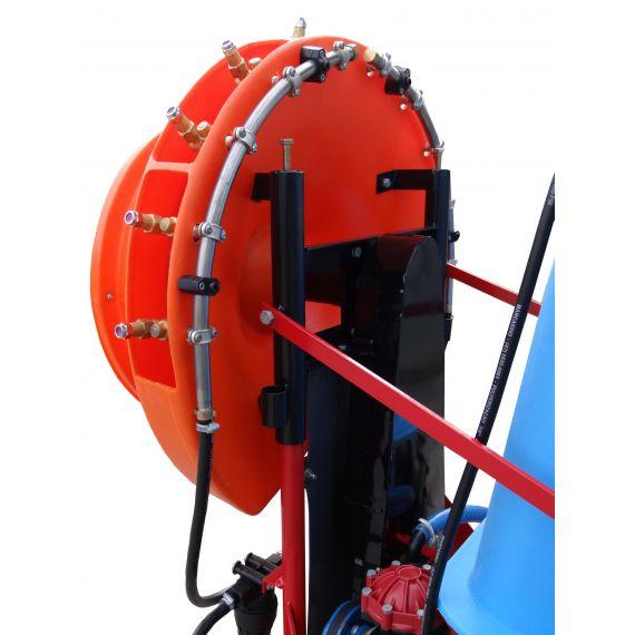 Pulverizador Tracionado Para Micro Trator com Atomizador